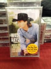 Hayes, Wade: When the Wrong One Loves You Right  Audio Cassette