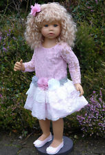 "Masterpiece Dolls * Cassi * Blonde Hair * 34 "" Vinyl Doll * by Monika Levenig"
