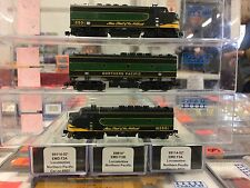 *** Intermountain *** Northern Pacific A-B-A / All powered units / DC Powered **