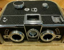 1955 PANORASCOPE SIMDA PHOTO CAMERA STEREO Model 1 with ROUSSEL lenses