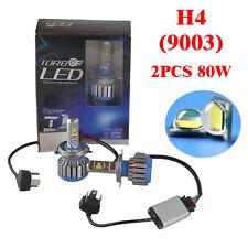 80W 8000LM H4 /9003 LED Light Headlight Vehicle Car Hi/Lo Beam Bulb Kit 6000k