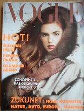 VOGUE GERMANY 11 - 1989 Cindy Crawford Donna Karan Julia Roberts Andie MacDowell