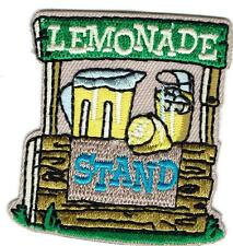 Girl Boy Cub LEMONADE STAND Fundraiser sale Fun Patches Crests Badge SCOUT GUIDE