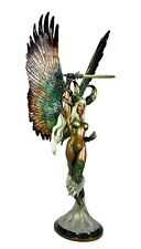 CLAYBURN CS MOORE TOP COW ANGELUS FAUX BRONZE 1/6 SCALE FIGURE STATUE NEW
