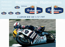 1/12 HONDA EDDIE LAWSON 1989 NSR500 ROTHMANS  DECALS TB DECAL TBD21
