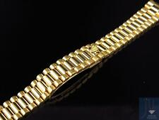 Lady's President Watch Band for Rolex Day-Date in 18K Yellow Gold 13 MM 38 Grams