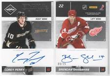 Corey Perry Brendan Shanahan Limited 11-12 Back To the Future Signatus 6/25 Auto