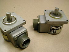 LOT 2 H20DB-39-SS ENCODERS BEI Motion Systems Company 7 PIN BENDIX CONNECTORS