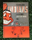 1952 Cleveland Indians Official Sketch Book VG Condition