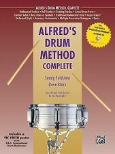Alfred's Drum Method Complete (Book & Poster), Staff, Alfred Publishing, New Boo