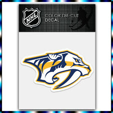 "Nashville Predators NHL Die Cut Vinyl Sticker Car Bumper Window 2.5""x4"""