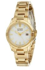 Citizen Women's Eco-Drive Silhouette Gold-Tone Stainless Steel Watch EW1962-53A