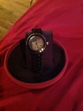 Hello Kitty Black Pearl Face Watch - By Kimora Lee Simmons Worn Once