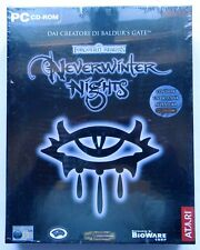 NEVERWINTER NIGHT SCATOLA RIGIDA BIG BOX ITA PC COMPUTER SEALED
