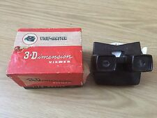 VINTAGE 1950's BACOLITE VIEW MASTER MODEL E VIEWER & Original free REEL