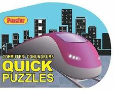 PUZZLER COMMUTER CONUNDRUMS : Quick Puzzles : WH4-B136 : PBS085 : NEW