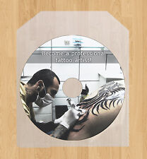 Learn Professional Tattooing, how to do Tattoos pro DVD video tutorial lessons