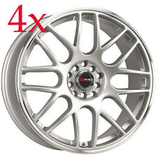 Drag Wheels DR-34 18x8 5x100 5x114 +47 Rims For Impreza Legacy Jetta WRX STI DSM