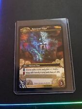 TCG World of Warcraft - SPECTRAL TIGER CARD 3/3 RARE! LOOT MOUNT WOW Unscratched
