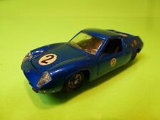 MEBETOYS A-39 A39 LOTUS EUROPA - LHD - BLUE 1:43 RARE - GOOD CONDITION