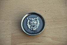 WHEEL CENTRE CAP / RIM BADGE GREY - Jaguar XJ / XK / X-TYPE / XF / S-TYPE # 6243