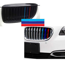 Front Hood Kidney Grill M-Sport Color Tech Stripes Sticker For Bmw M3 M5 M6