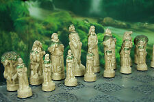 Robin Hood V Sheriff of Nottingham Chess Set. Customisable Colours (Pieces Only)