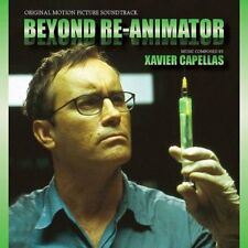 BEYOND REANIMATOR  - COMPLETE SCORE - LIMITED EDITION - XAVIER CAPELLAS