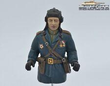 Neu ! Russischer Panzer Kommandant Halb Figur Resin hochwertig handbemalt 1:16