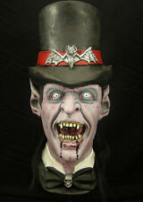 Top Hat Vampire Halloween Mask Don Post Not Freddy Jason