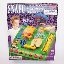 VTG Snafu Maze Board Game Obstacle Course 90's TOMY Labyrinth - Missing Timer