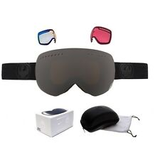NEW Dragon APX Knightrider Black Mens Ski Snowboard Goggles & 3 lenses Msrp$230