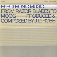 Electronic Music: From Razor Blades To Moog - J.D. Robb (2009, CD NEUF) CD-R