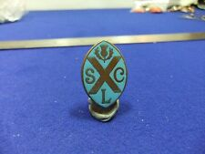 vtg badge scl slc scottish thistle saltire curling club ?