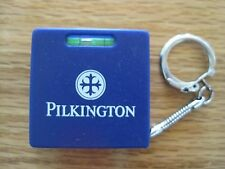 Advertising Keychain Pilkington with Level and Tape Measure
