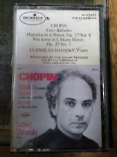 Ludwig Olshansky Chopin 4 Ballades Mazurka Nocturne Sealed New tape 1977 Monitor
