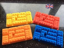 Silicone Brick Mould Nine Styles On One Mat For Cake Decorating £6.40 Each