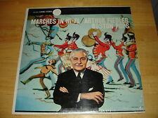 Arthur Fiedler, Boston Pops - Marches In Hi-Fi (LP, 1958) In Shrink EX/EX Stereo