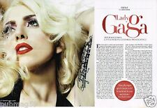 Coupure de Presse Clipping 2013 (2 pages) Lady gaga