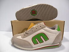 ETNIES LO-CAT 2 LOW SKATE SNEAKERS WOMEN SHOES WHITE/GRAY/GREEN 3294 SIZE 8 NEW