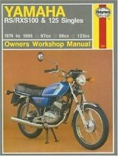 Yamaha RS & RXS '74'95 (Owners Workshop Manual)-ExLibrary