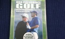 High performance golf dvd