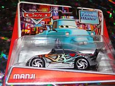 "DISNEY PIXAR CARS ""MANJI"" Die-Cast Metal, Scale 1:55, NEW, Mattel"