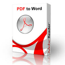 PDF to Word Converter, Convert & Edit in Word PC CD ROM Create Printer 2 Edit