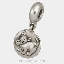 Authentic Pandora Sterling Silver Dangle Dog Chinese Zodiac Bead 790877