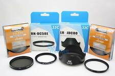JJC Adapter & Lens Hood for CANON PowerShot G1 X Mark II + 58mm UV+ CPL Filter