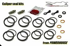 Suzuki GSX-R 750 front Tokico brake caliper seal repair kit K6 K7 2006 2007