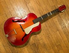 Vintage Jazz guitar Cremona Luby Made in CSSR 1950's - 1960's acoustic hollow