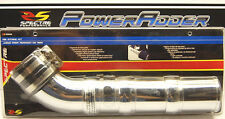 """Spectre 8208 Universal 3"""" 76mm Cold Air Intake Tube Kit ABS Plastic Chrome"""