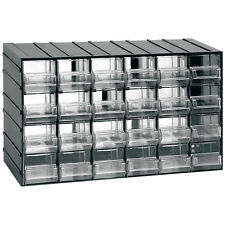 Cassettiera 24 cassetti trasparenti porta minuterie utensili meccanico viti 611